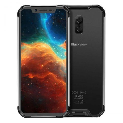 "Blackview BV9600 Pro IP68 Waterproof Rugged Mobile Phone Helio P60 6GB+128GB 6.21"" 19:9 AMOLED 5580mAh Android 9.0 Rugged Smartphone"