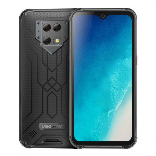 "Blackview BV9800 Helio P70 Android 9.0 6GB+128GB Rugged Smartphone 48MP Rear Camera IP68 Waterproof 6580mAh 6.3"" FHD Mobile Phone"