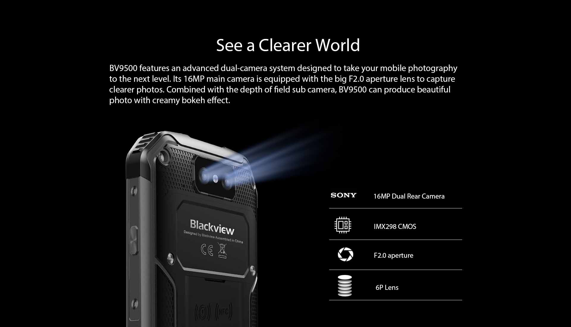 Blackview BV9500 rugged phone